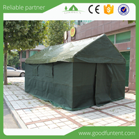 Factory provide directly safety relief canvas wall tent