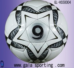 PU hand sewing soccer ball