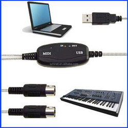 PC MIDI to USB Cable to Music Keyboard Hinet factory