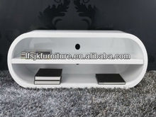 Luxury style high glossy TV cabinet wood tv stand JTS-3