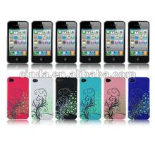 Flower Hard Back Case Cover Skin For Apple iphone 4S 4 4G Latest Verzion ATT