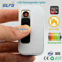 Silfa new invented products rechargeable USB jifeng lighter with 4GB capacity