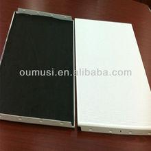 600x600 mm aluminio clip-en Sistema de techo con 0.9 mm de espesor