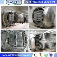 freeze drying equipment / organic freeze dried vegetables / vacuum dryer for fruit and vegetable