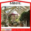 Triangle roof aluminum frame storm proof sun glass garden room