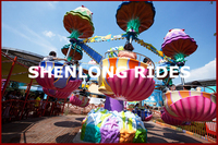 Best quality children and adult ride equipment head shaking ride jellyfish for park
