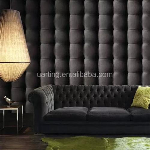 2015 new three dimensional 3d leather effect wallpapers for 3d effect wallpaper for home