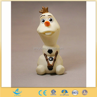 customized plastic snowman olaf toy wholesale fashion cartoon toys custom plastic olaf action. Black Bedroom Furniture Sets. Home Design Ideas