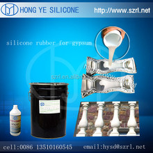 RTV-2 Silicone rubber for gypsum rosettes mold making