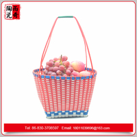 Hand-woven picking basket made in china