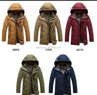Custom european new style men goose down jacket,low price mens clothing