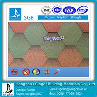 China High Quality Mosaic Decorative Roof Ridge Tiles