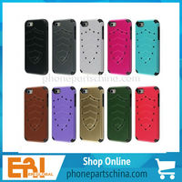NEW PC material Water/Shock/Dust proof Case Cover Skin for Apple iPhone 5/5S for hard iphone 5 pc case