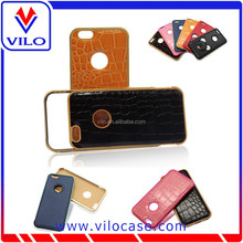 factory wholesales aluminum bumper leather case for iphone 6 for iphone 6 plus for samsung S6 for samsung S6 edge