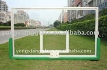 Wall mounted basketball backboard for kids