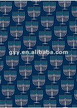 2012 Menorah Wrapping Paper