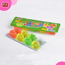 Mix Fruity Flavor Fruit Jelly Cube Fruit Jelly