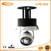led downlights vs halogen epistar cob 20w recessed led downlight