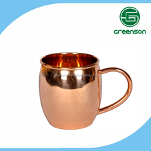Shenzhen manufacturer wholesale copper mugs moscow mule, hammered copper mugs for ginger beer vodka and coffee
