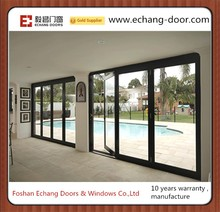 high quality bi folding door /Double glazing aluminium bifold door