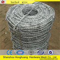 Factory outlets High quality types of barbed iron wire