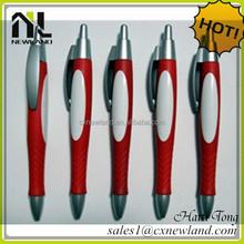 Best sale 2014 newest promotional logo feather ballpoint pen wholesale
