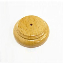 High Quality Beech Wooden Base Wooden Table Desk Base for Decorative Flag