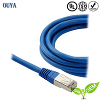 Customized fluke test cat5e utp cable network cable outdoor utp cable
