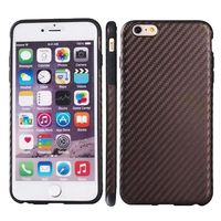 Newest Carbon Fiber Case for iPhone 6 with Leather Coated