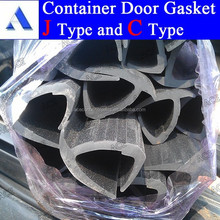 Rubber container seal