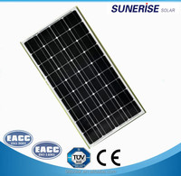 12v/18v factory price 100 watts Mono solar panel for Home use in China