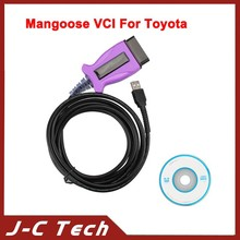 2015 Mangoose VCI For Toyota Techstream V10.00.028 Single Cable Support Till 2014 Year With High Quality from Sarah