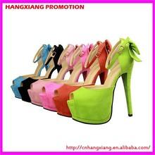 Women Very High Heels Peep toe 5 cm Platform Shoes Micro Suede Fabirc Black Open Toe Heels