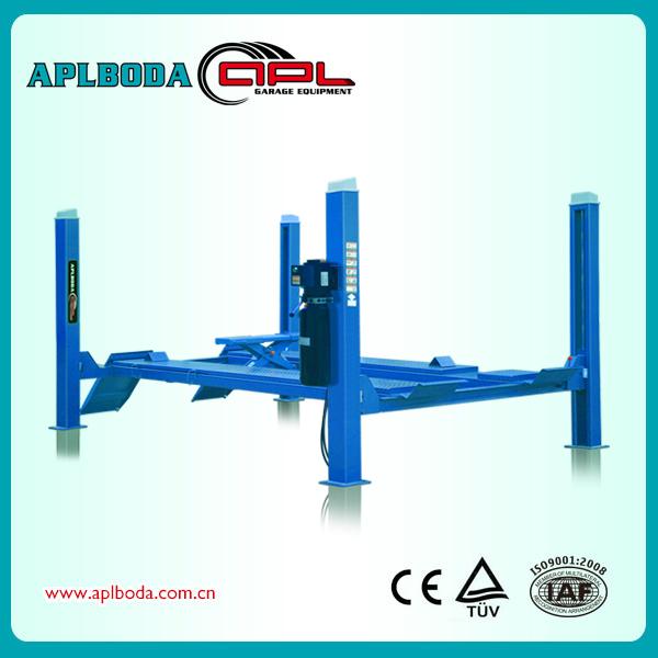 Single Hydraulic Automotive Lifts : New pneumatic and hydraulic single post inground lift on
