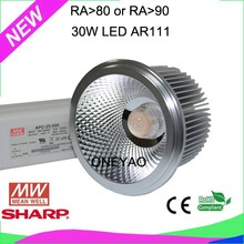 Made with driver brand mean well AR111 30W AR111