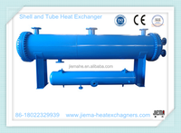 CE Certificate Shell and Tube Heat Exchanger as Condenser /Evaporator for Oil to Water