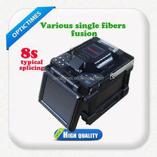 low price of easy operating fusion splicer english version competitive fiber optical joint machine