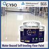 Water based self leveling epoxy floor coating