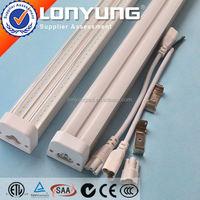 UL led light tube Linear T5 LED Integrative Double Tube 1-8ft 8-60w 120cm t5 30W ETL DLC TUV SAA