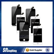 for iPhone 5 Full Set LCD Screen Replacement Digitizer Assembly Display Touch Panel Black + Free Repair Tool
