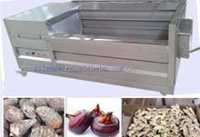 2015 hot sale La-w2000 vegetable and fruit washing machine with video