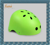 Green color high quality Children skateboarding helmet with ABS shell and EPS liner