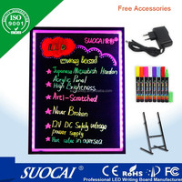 2014 New Inventions advertising solution writable Programmable led message board signs