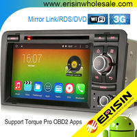 "Erisin ES2027A 7"" Capacitive 2 Din Touch Screen Car Radio for A3 S3 RS3"