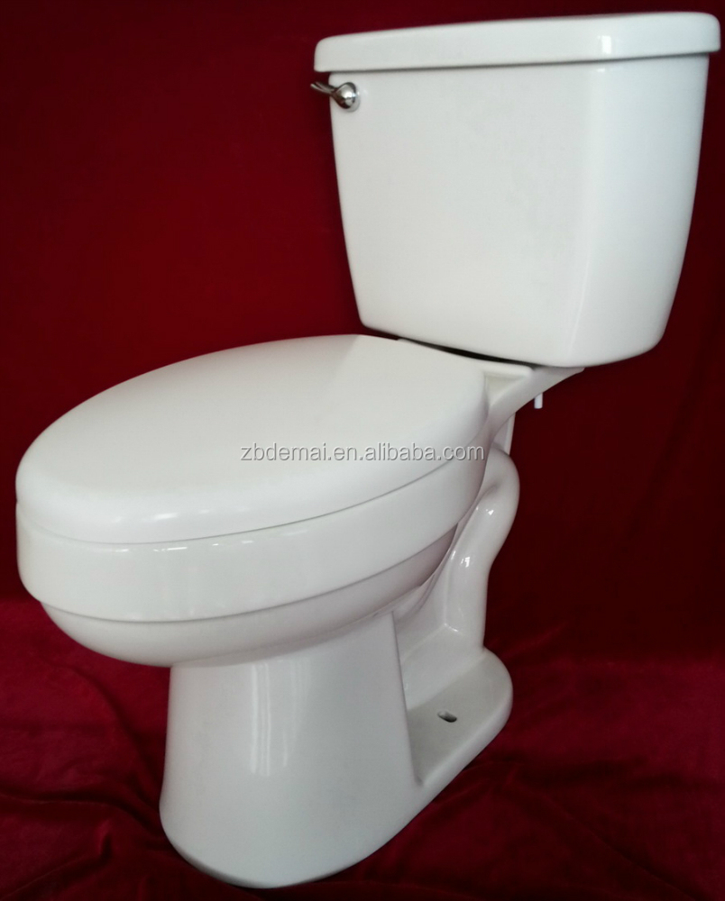 Cheap Prices Siphonic Two Piece Toilet S Trap Water Closet