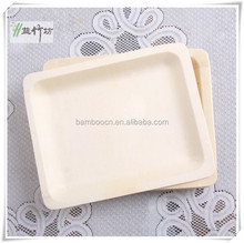 Eco friendly Disposable Wooden Organic Plates