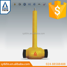 TKFM hot sale natural gas pipeline use underground high pressure ball valve