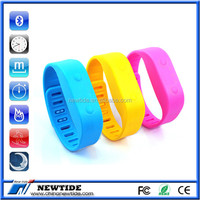 2014 Bluetooth 4.0 watch with pedometer with step counter (NT-BP0067)