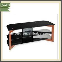 mueble de sala de estar de madera soportes de audio soportes de lcd tv China RAV511