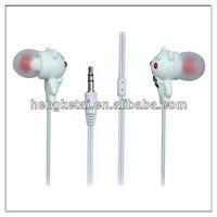 Comfortable mini earbuds cute ear phones little cat shape